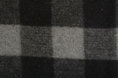 Woven Wool Black