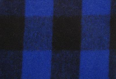 Woven Wool Blue